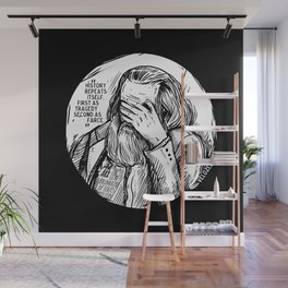 Facepalm Marx Wall Mural
