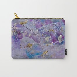 Silver Cloud Carry-All Pouch