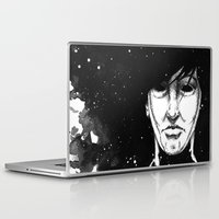 sandman Laptop & iPad Skins featuring The Dream King by Caleb King