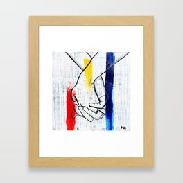 Primary Love Framed Art Print