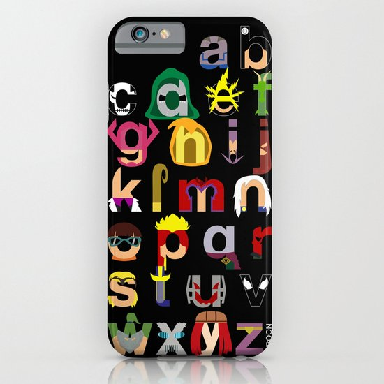 Marvelphabet Villains iPhone & iPod Case