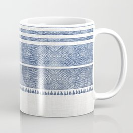 FRENCH LINEN CHAMBRAY TASSEL Coffee Mug