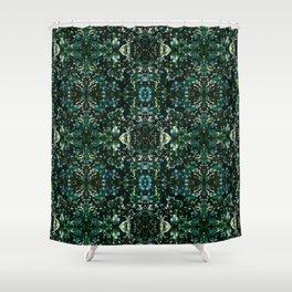 Ilex pattern Shower Curtain