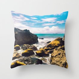 Pura Vida Throw Pillow