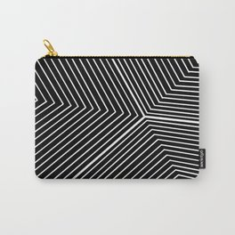 Aesthetic Black Prism Carry-All Pouch