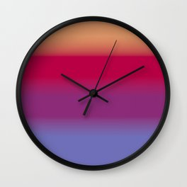 Sunset and Water Wall Clock