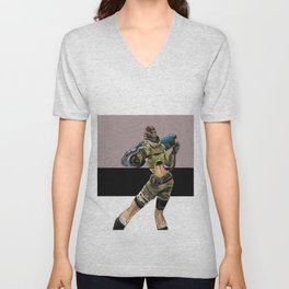 Warriorchick Unisex V-Neck