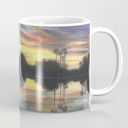 Sunset In My Backyard Coffee Mug