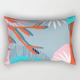 Chill Pill - throwback memphis retro vintage classic neon pop art 1980s style 80s art print hipster  Rectangular Pillow