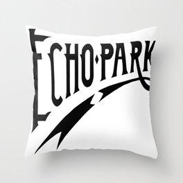 Echo Park Script Throw Pillow