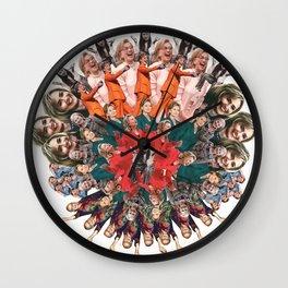 Hillary Clinton Mandala Wall Clock