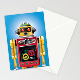 Tin Man No. 2 Stationery Cards