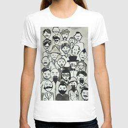 the bearded mens club part 1  T-shirt