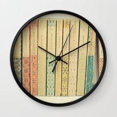 Old Books Wall Clock