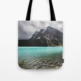 Mountain Photography Landscape Glaciers Turquoise Lake Water Beautiful Nature Tote Bag