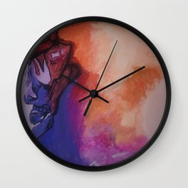 Man On The Moon (Revisited) : The Second Landing Wall Clock