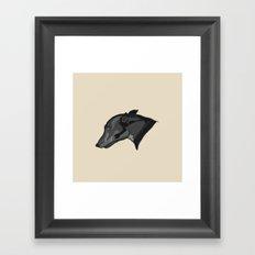 Grey Judith Framed Art Print