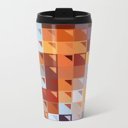 Sophistication of Color Metal Travel Mug