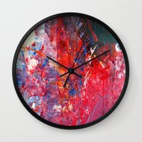 kids Wall Clocks featuring Kids by Megan Spencer