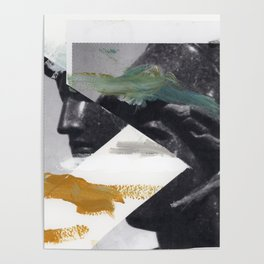 Untitled (Painted Composition 2) Poster