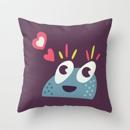 Kawaii Cute Candy Character Throw Pillow