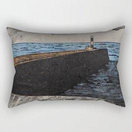 Aberystwyth Lighthouse Rectangular Pillow