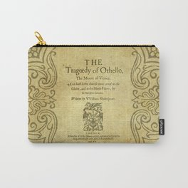 Shakespeare. Othello, 1622. Carry-All Pouch
