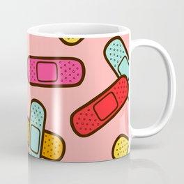 Rainbow Band-Aids Coffee Mug