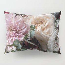 Large floral bouquet - Dahlia and Rose I Pillow Sham