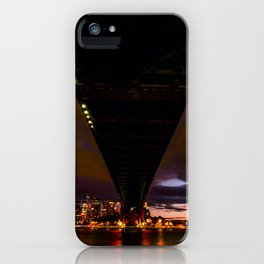 Under a Bridge iPhone Case
