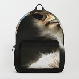 Ostrich Head Backpack