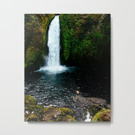 To swim alone Metal Print
