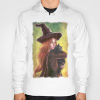witch Hoodies featuring Witch by Miguel Angel Carroza