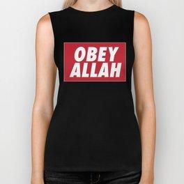 OBEY ALLAH Biker Tank