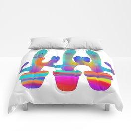 Cactus Rainbow 02 Comforters