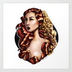 Flora (Firebird) Art Print