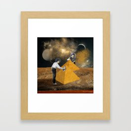 Professional cleaners Framed Art Print