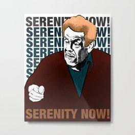 Serenity Now Metal Print