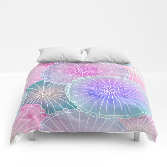 Floral Pattern 16 Comforters