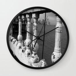 Colonial Modernity Wall Clock