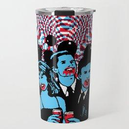 Clip Art Zombie Party Travel Mug