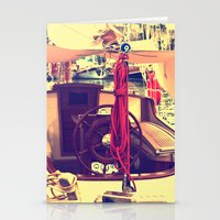 boat Stationery Cards featuring boat by gzm_guvenc