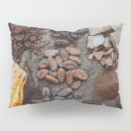Cacao, beans, chocolate Pillow Sham