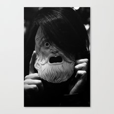 Masked Figure  Canvas Print