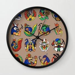 Egyptian Gods and Goddesses Wall Clock