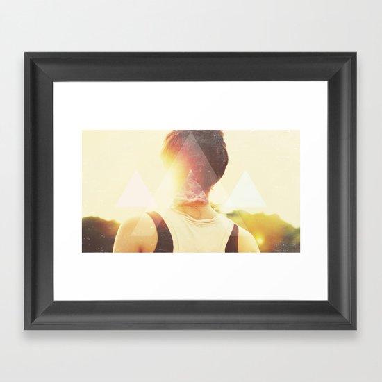 Blowout Framed Art Print