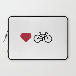 love my bike Laptop Sleeve