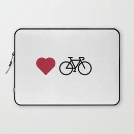 love my bike Laptop Sleeve