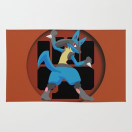 Lucario-Fighting Type Revisited *SPECIAL EDITION* Rug