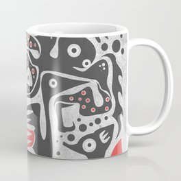 Forest and animals illustration Coffee Mug